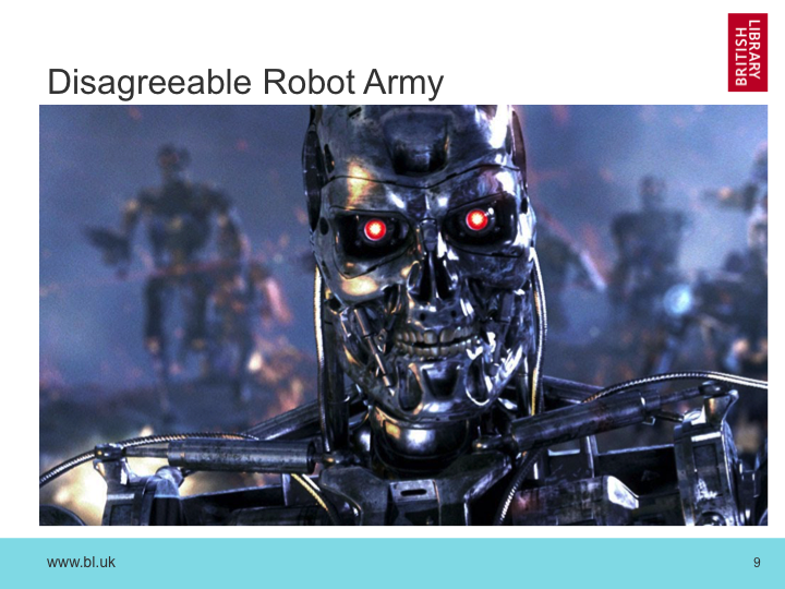 Disagreeable Robot Army