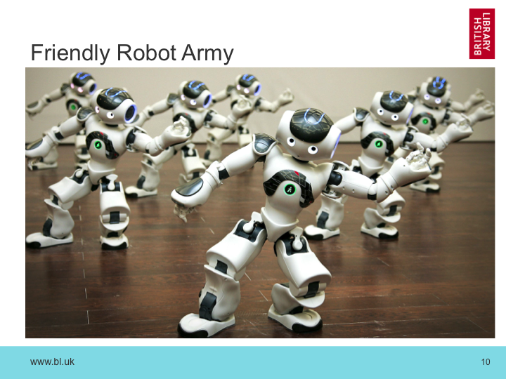 Friendly Robot Army