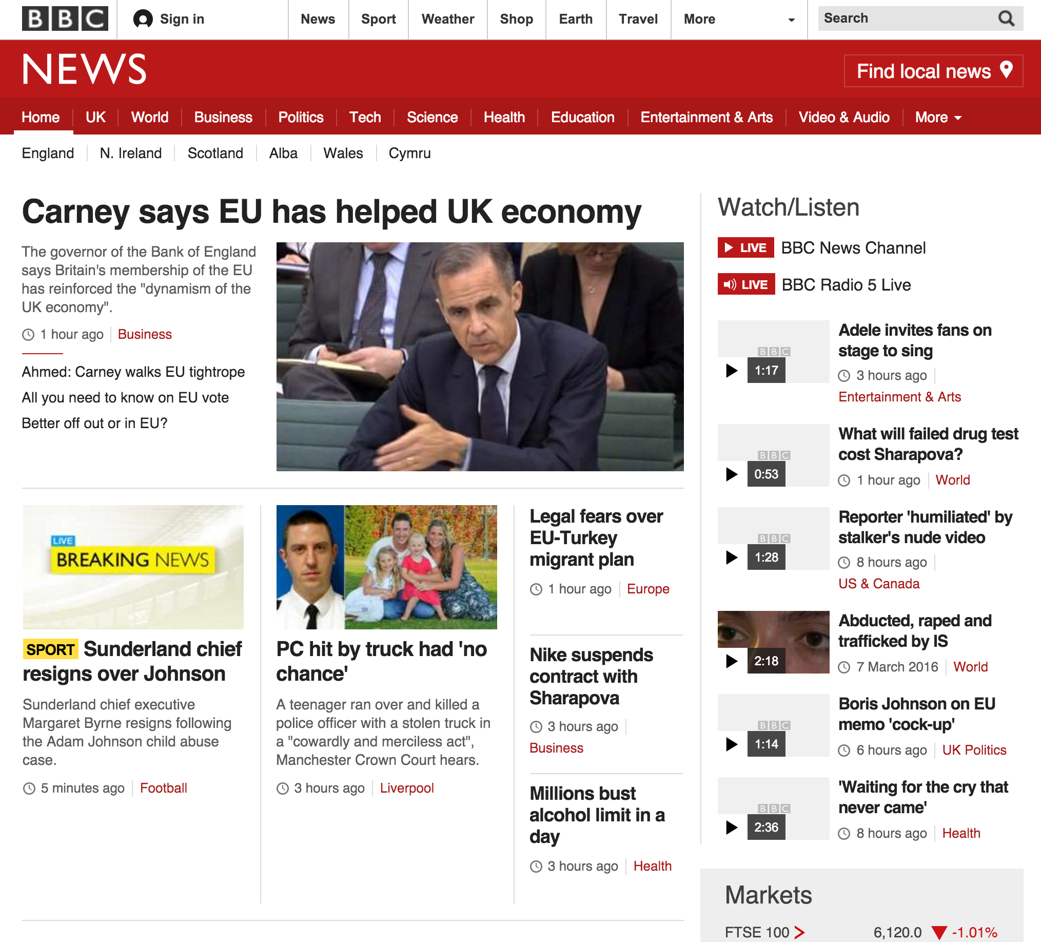 BBC News - wider but with missing images